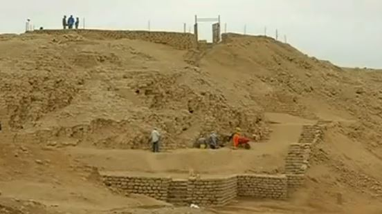 Tomb discovered in Peru.