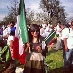 Lizbeth Mateo, one of three young activists who left the US to protest deportation policies.