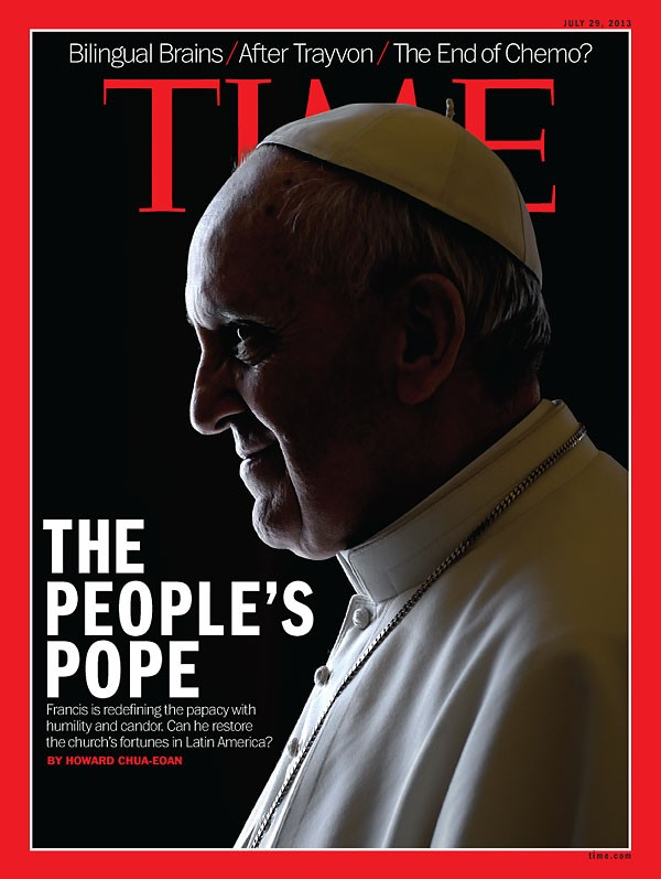 Pope Francis Time magazine cover