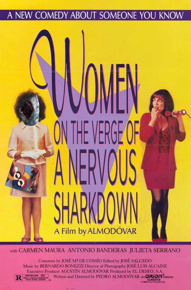 Women On The Verge Of A Nervous Sharkdown