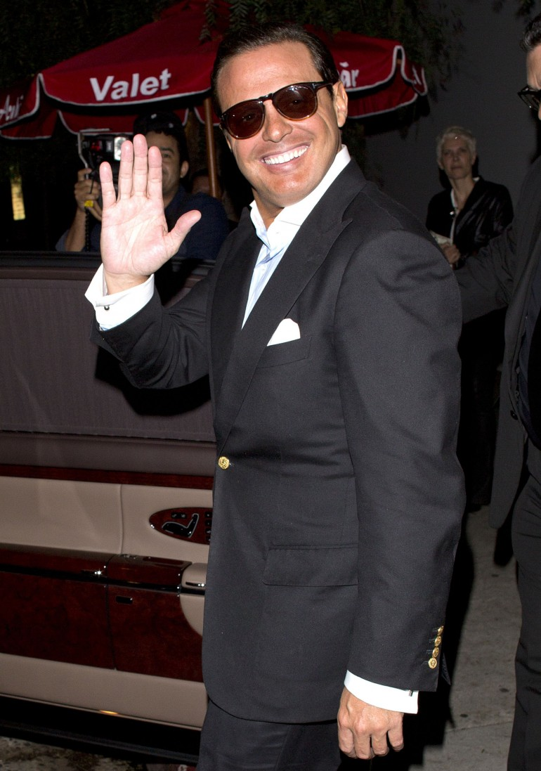 Luis Miguel Is Happy!