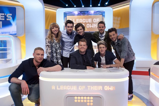 One Direction On 'A League Of Their Own'