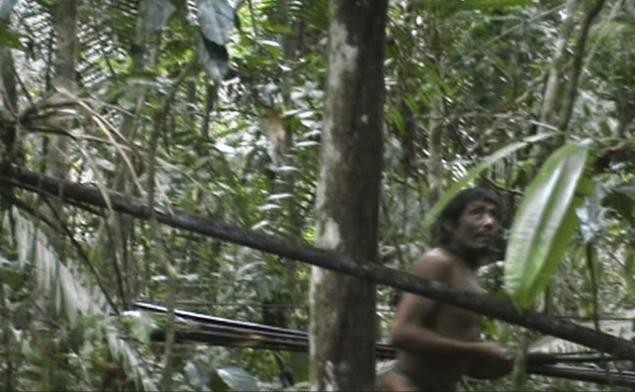 Exclusive footage of Brazil's indigenious tribe.