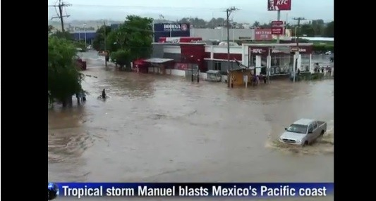 Mexico Storm: Hurricane Ingrid Hits Mexico After Tropical Storm Manuel