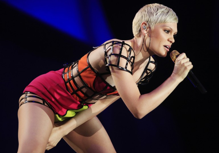 Jessie J performs at the Rock in Rio Music Festival in Rio de Janeiro earlier this September.