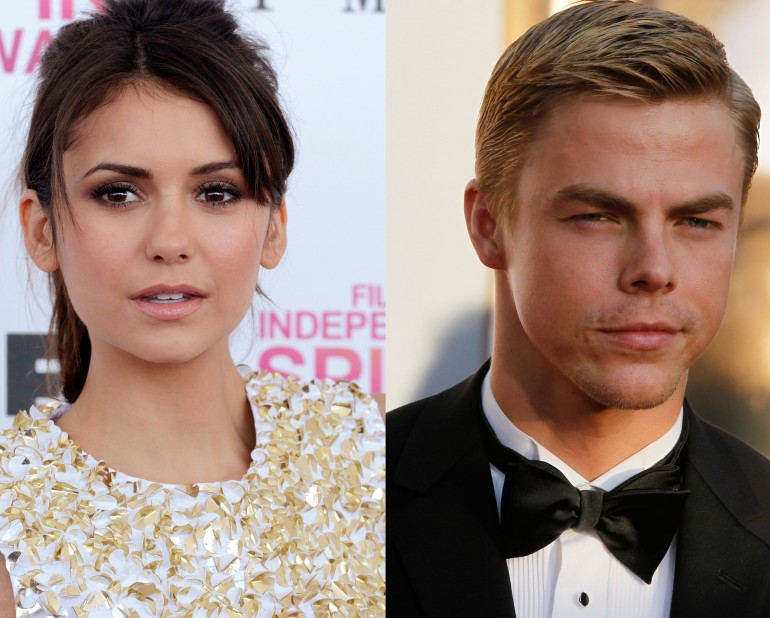 nina dobrev and derek hough dating again after the death