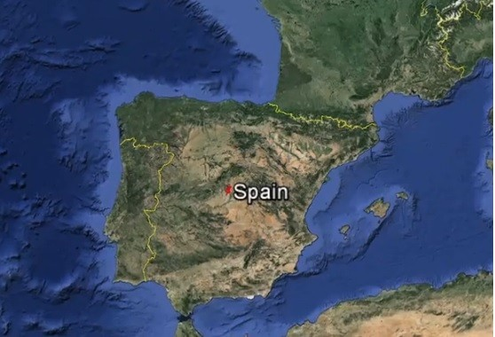 Map Of Spain Time Zones.Spain Time Zone Change Switch Out Of Hitler Time Could Make