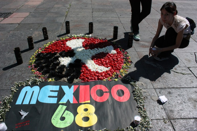 October 2, 1968 Student Massacre By Police In Tlatelolco Square