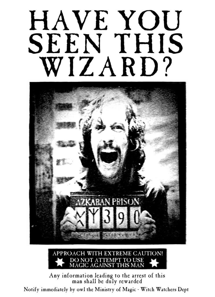 It's just a graphic of Resource Harry Potter Wanted Poster Printable