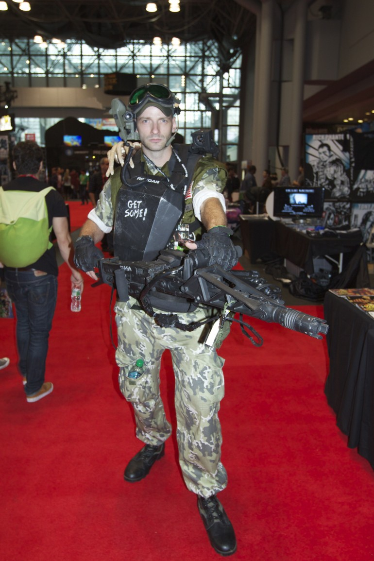 Cpl. Dwayne Hicks  sc 1 st  Latin Times & Comic Con Cosplay 2013: See The Best Costumes People Are Wearing ...
