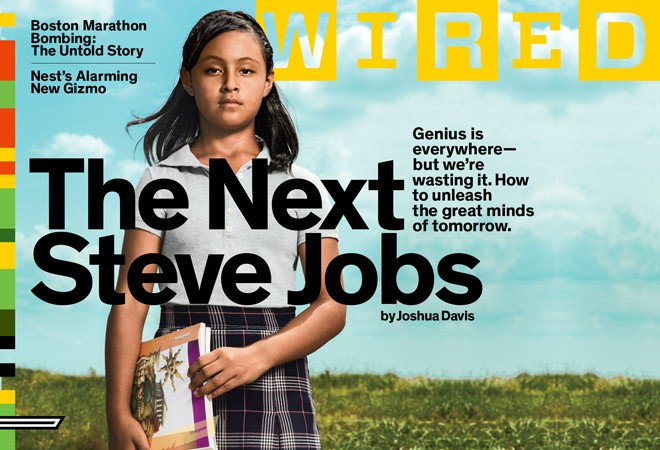 Paloma Noyola Bueno on the cover of Wired Magazine