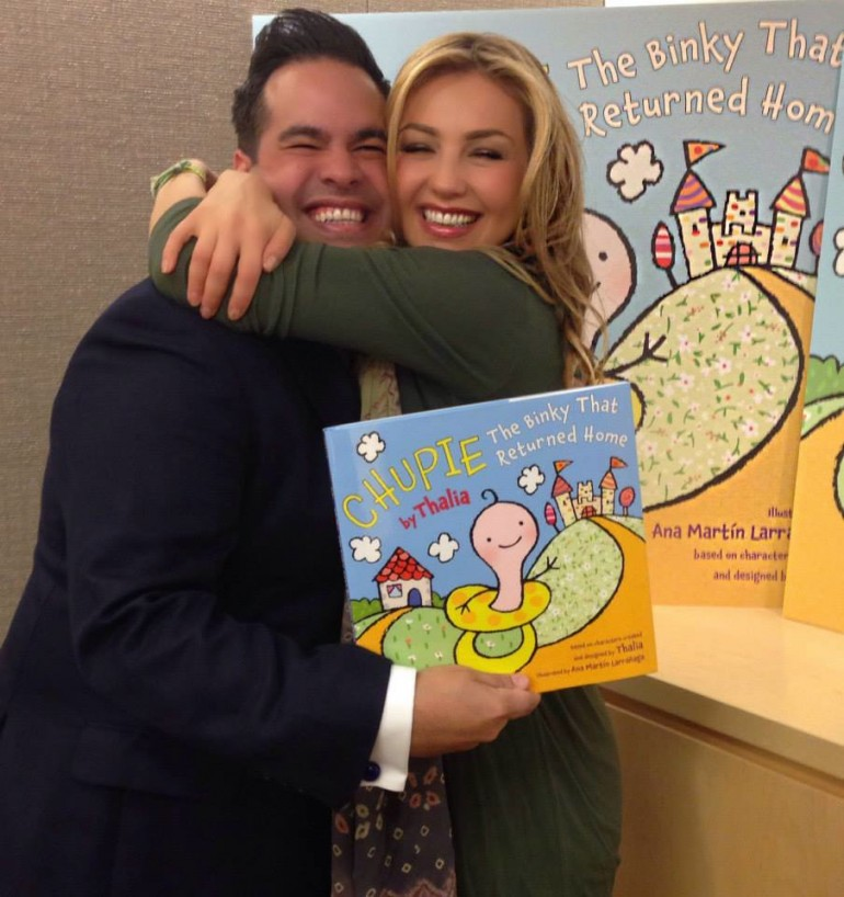 Thalia Releases First Children's Book
