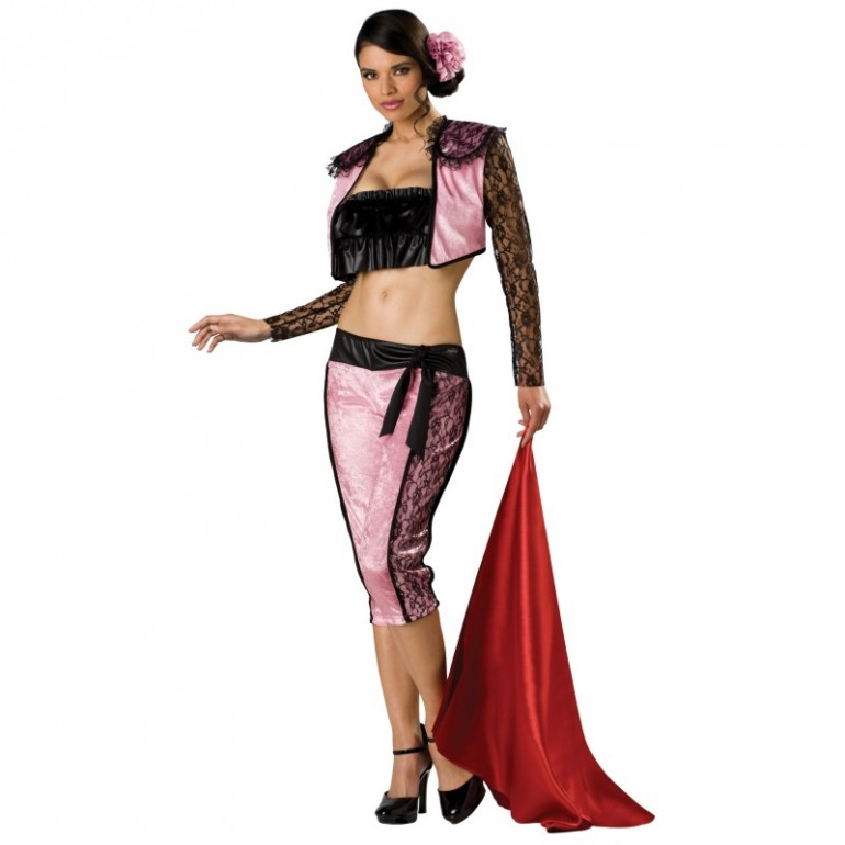 Pink Halloween Costumes For Adults Pink Matador Adult Costume