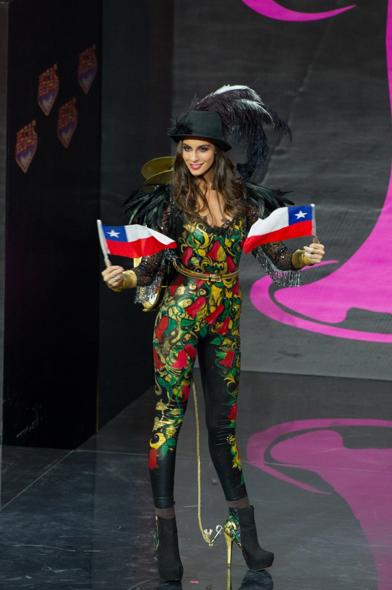 Miss Universe 2013 National Costumes: Chile