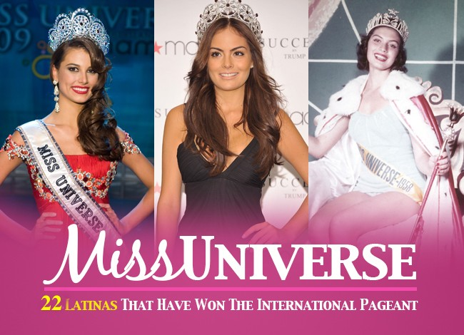 22 Latinas That Have Been Crowned Miss Universe