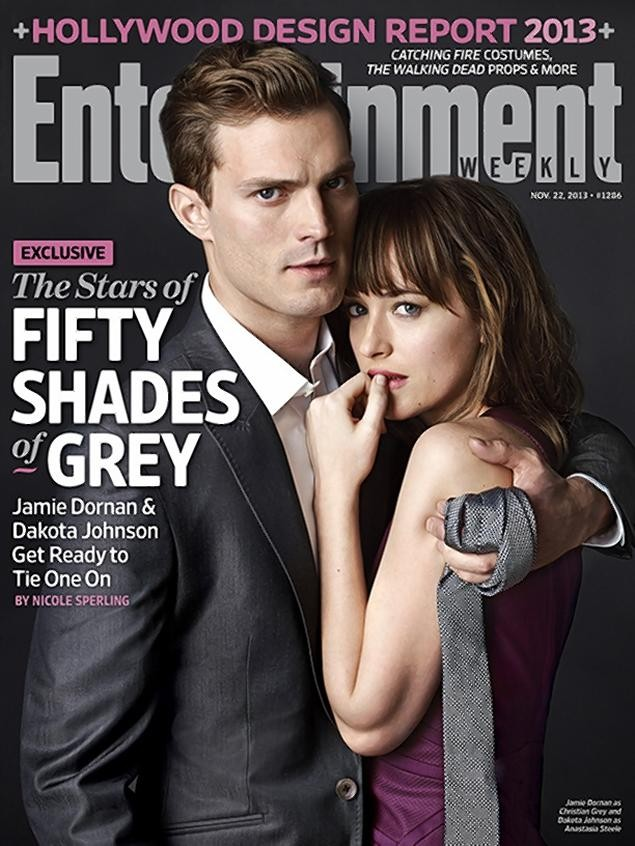"""Entertainment Weekly """"Fifty Shades Of Grey"""" Cover"""