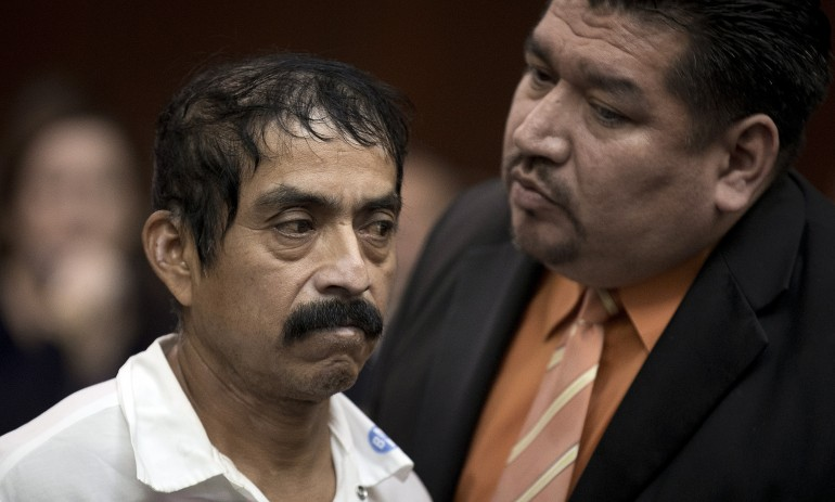 """Conrado Juarez pled not guilty to the rape and murder of """"Baby Hope."""""""