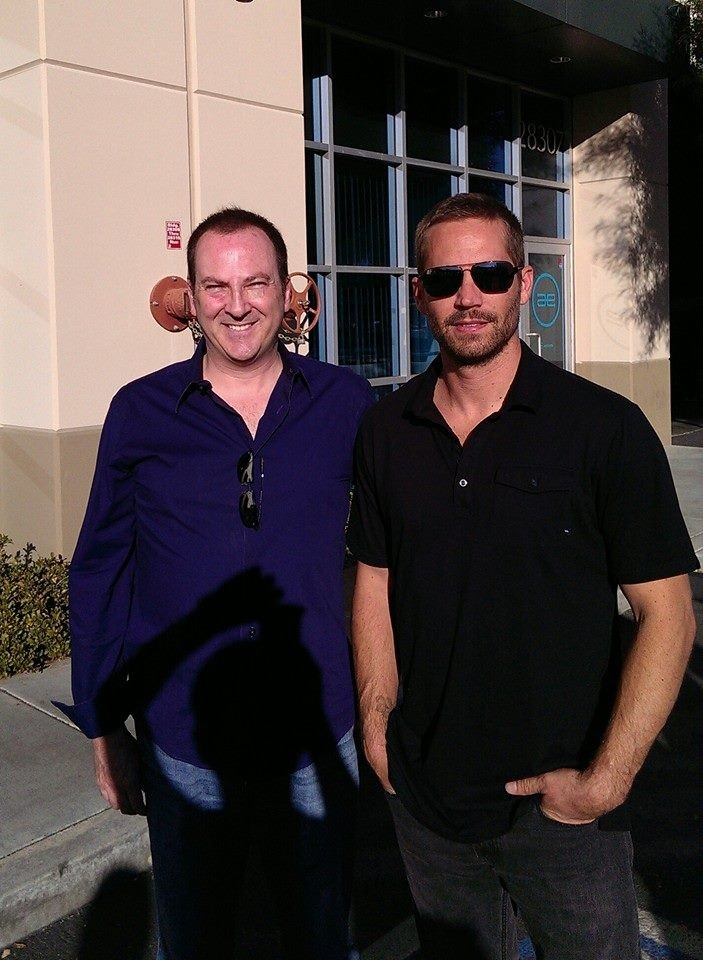 Bill Townsend and Paul Walker