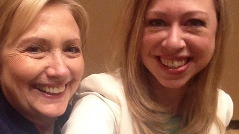 Hillary Clinton with daughter Chelsea