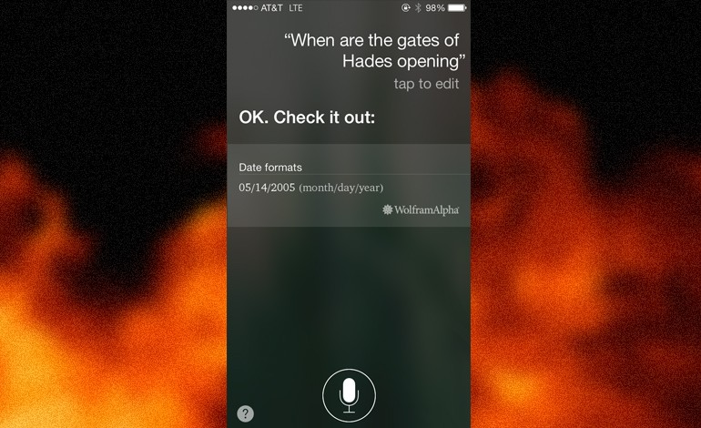 Siri Predicts End Of The World