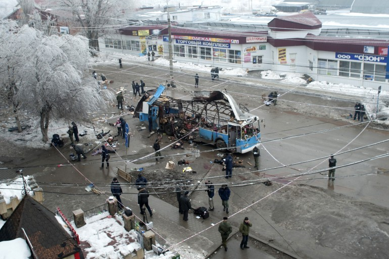 Russia Sucide Bombings Reuters