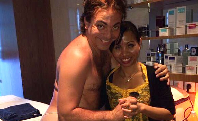 Cristian Castro's Nearly Nude Photo