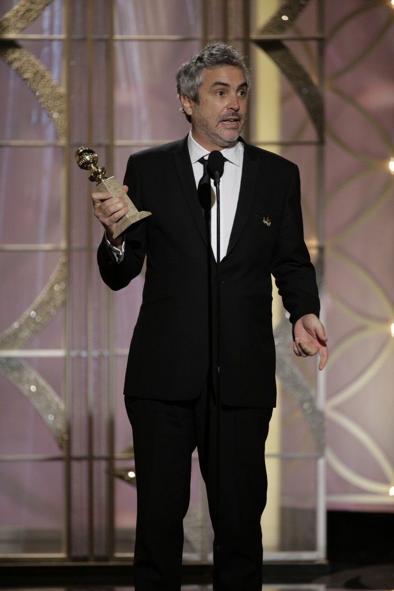 Best Film Editing, Best Original Screenplay, Best Adapted Screenplay And Best Director Winner: Alfonso Cuarón
