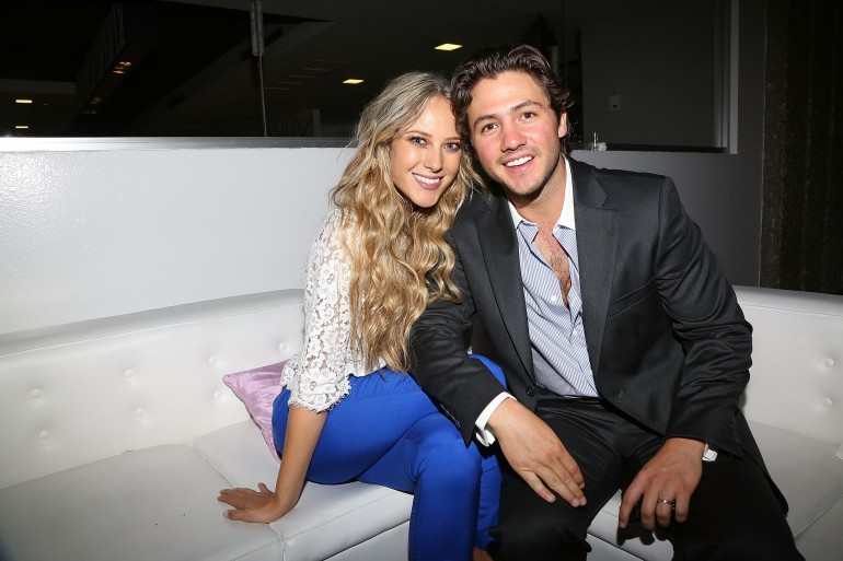Photo of Vanessa Huppenkothen & her friend celebrity  Miguel Gurwitz -