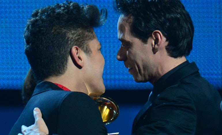 Grammy Awards 2014: Bruno Mars and Marc Anthony