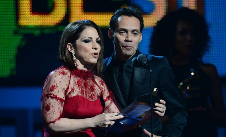 Grammy Awards 2014: Gloria Estefan and Marc Anthony
