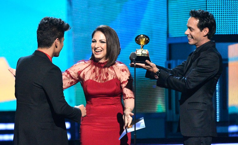 Grammy Awards 2014: Gloria, Marc and Bruno