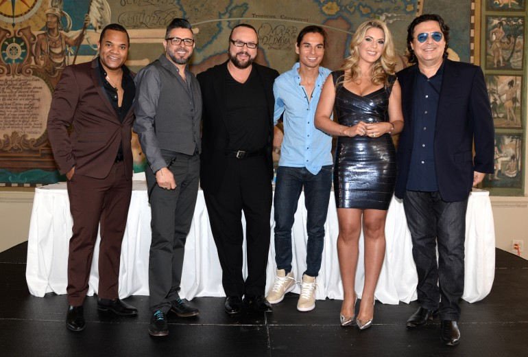 Latin Songwriters Hall of Fame Press Conference