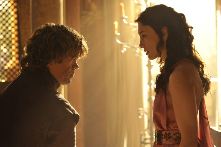 Tyrion Lannister and Shae