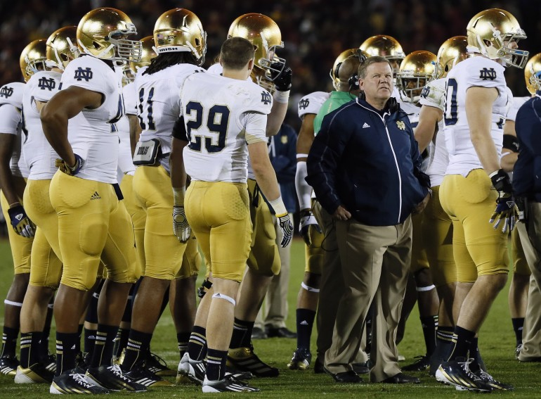 Brian Kelly ND Reuters