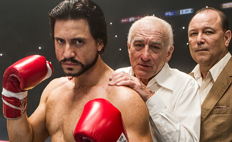 'Hands Of Stone' First Photo