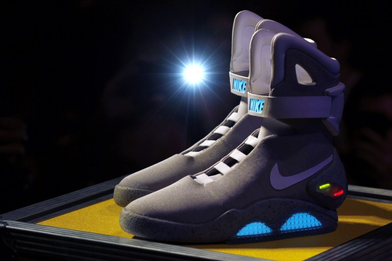 56e9b81679e0 Nike  Back To The Future  Shoes  Company Set To Unveil Self-Tying Sneakers  In 2015
