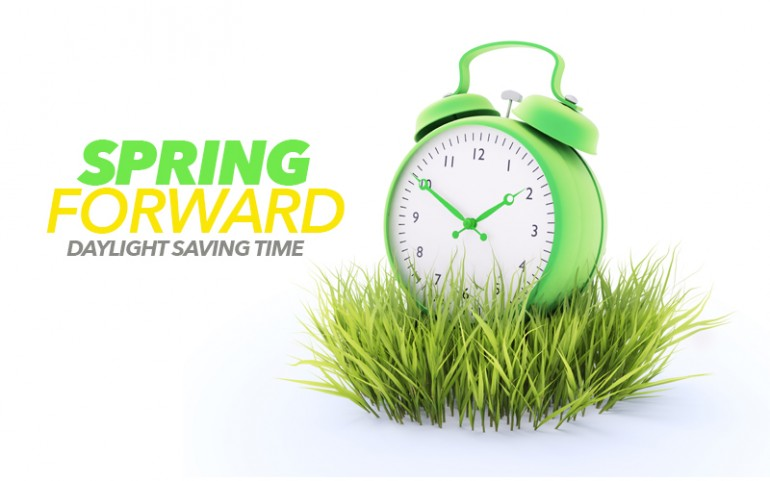 Daylight Savings Time, Spring Ahead! Free Daylight Saving Time Begins ...