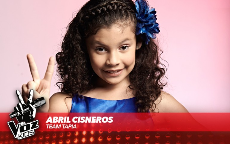 'La Voz Kids' Season 2: Abril Cisneros