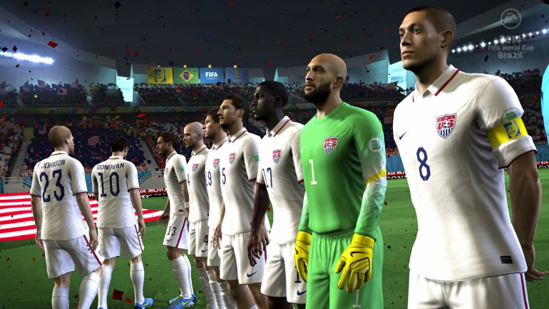 USA Roster EA Sports FIFA Game