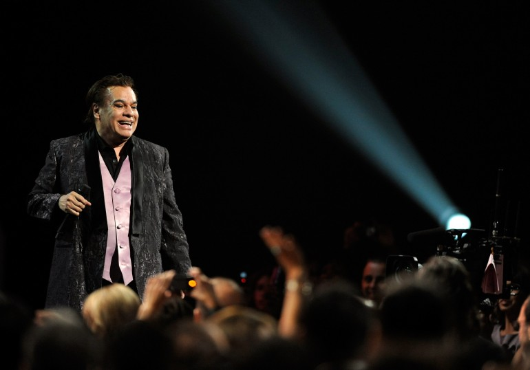Mexican music icon Juan Gabriel dead at 66