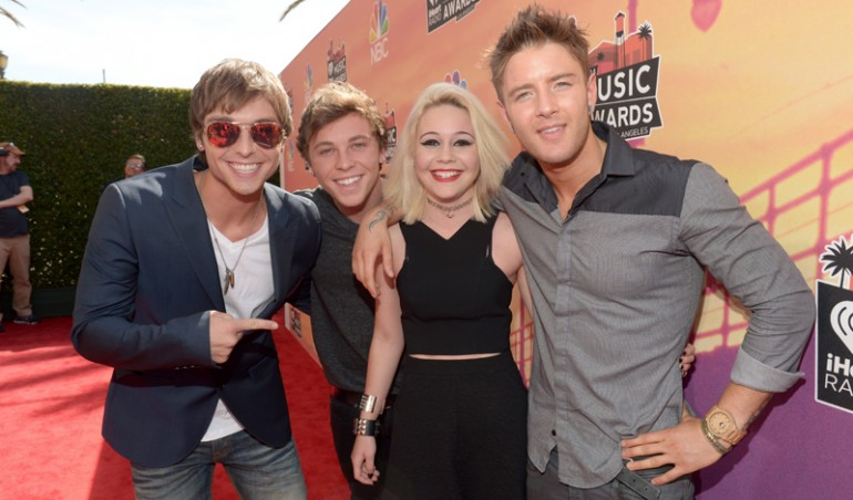 iHeartRadio Music Awards Red Carpet: Emblem 3