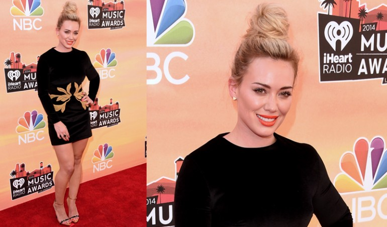 iHeartRadio Music Awards Red Carpet: Hilary Duff