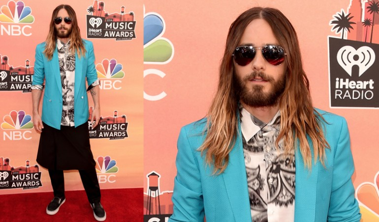 iHeartRadio Music Awards Red Carpet: Jared Leto