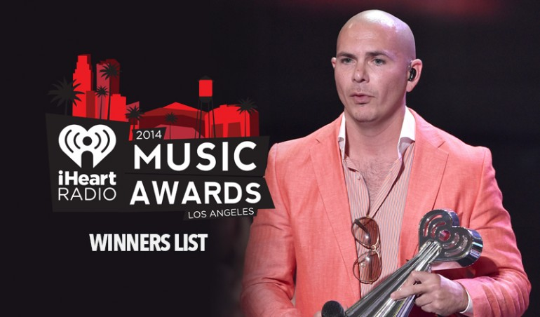 iHeartRadio Music Awards Winners List
