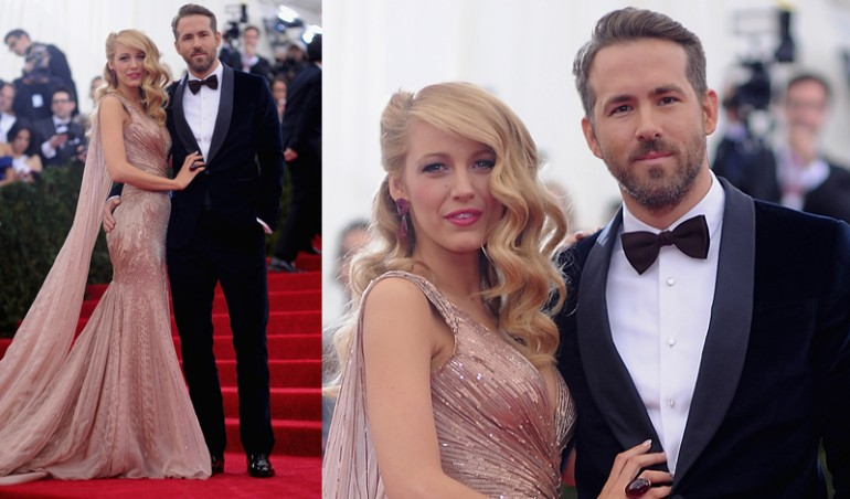 Met Ball 2014: Blake Lively, Ryan Reynolds