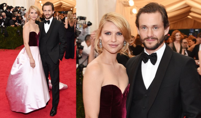Met Ball 2014: Clair Danes, Hugh Dancy