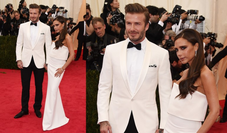 Met Ball 2014: David and Victoria Beckham