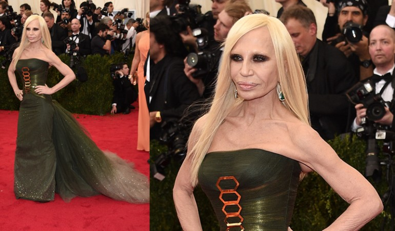 Met Ball 2014: Donatella Versace