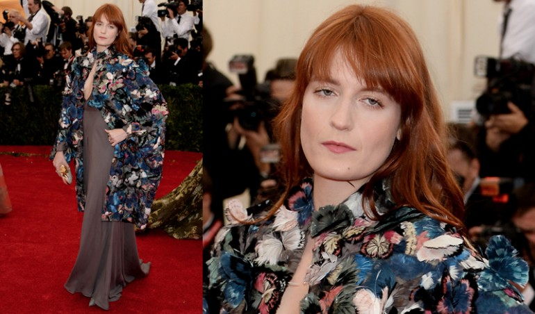 Met Ball 2014: Florence Welch