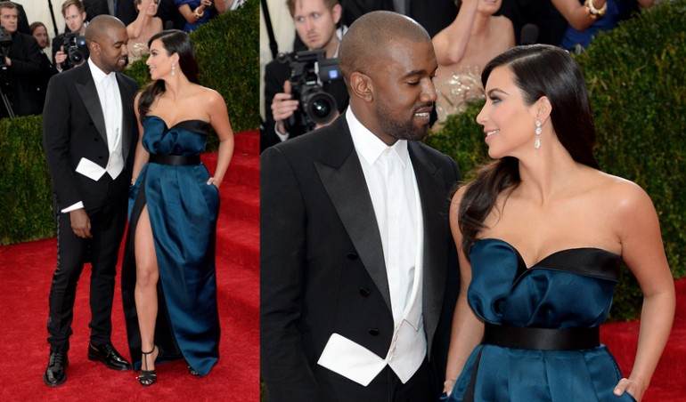 Met Ball 2014: Kim Kardashian and Kanye West